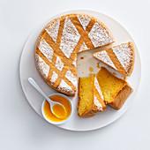 Prosecco lemon cake