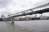 London Millennium Footbridge, London, UK