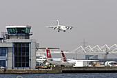 London City Airport, London, UK