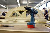 Carpentry training workshop