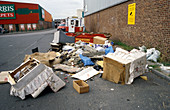 Fly tipped rubbish