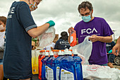 Free essential item distribution during covid-19 outbreak