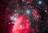 Horsehead Nebula and Orion's Belt
