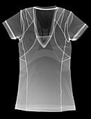 Sports t-shirt, X-ray