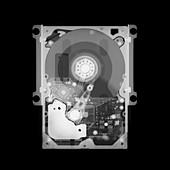 Hard drive, X-ray