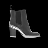 Ankle boot, X-ray