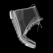 Flexing boot, X-ray