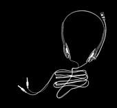 Headphones, X-ray