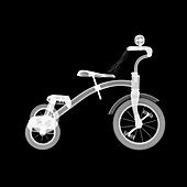 Childs tricycle, X-ray