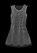 Sequin dress, X-ray