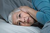 Noise keeping woman awake