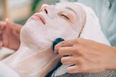 Ventosa cupping facial treatment