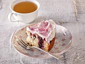 Stuffed raspberry pie