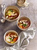 Soup with white beans