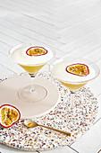 Alkoholfreier Passionsfrucht-Martini
