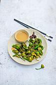 Snack-Paprika mit Dip (Asien)