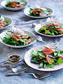 Poached Ocean Trout with Japanese Dressing