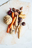 Root vegetables and tubers