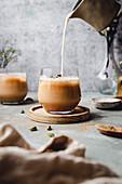 Iced Vanilla Chai Latte