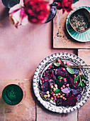 Spicing up Spring - Beetroot, Chickpea and za atar salad