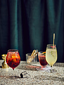 Spritz Veneziano, Thyme Gin Fizz