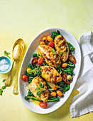 Zingy lemon and ginger chicken