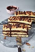 Pecan Chocolate Bars