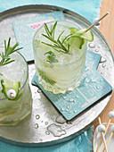 Limetten-Sprizz (alkoholfrei)