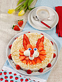 Ricotta rabbit cake