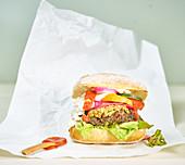 Takeout Veggie Burger
