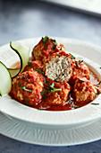 Chicken keto meatballs