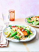 Healthy miso salmon