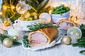 Beef Wellington zu Weihnachten