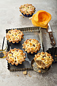 Small butternut pies