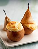 Gratin pears