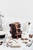 Chocolate cake with dark chocolate