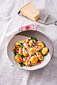 Gnocchi with spinach