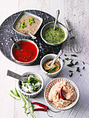 Dips and marinades from Westphalian cuisine