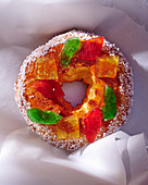 Couronne Bordelaise with candied fruits