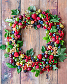 Berries wreath
