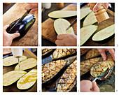 Baba Ghanoush (Auberginencreme) zubereiten