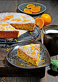 Spanish orange and almond cake