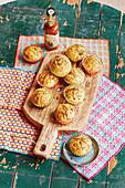 Chilli cornbread muffins (football evening)