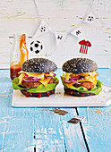 Germany cheeseburgers (football evening)