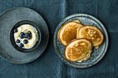 Gluten-free pancakes for breakfast