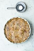 Gluten-free spinach pie
