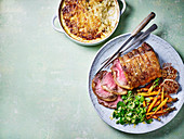 Roast beef sirloin and béarnaise dauphinoise