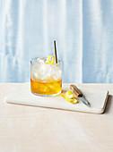 Old Fashioned Drink mit irischem Whisky