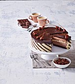 Parisien chocolate cake (gateau)