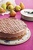 'Pear Helene' Cake